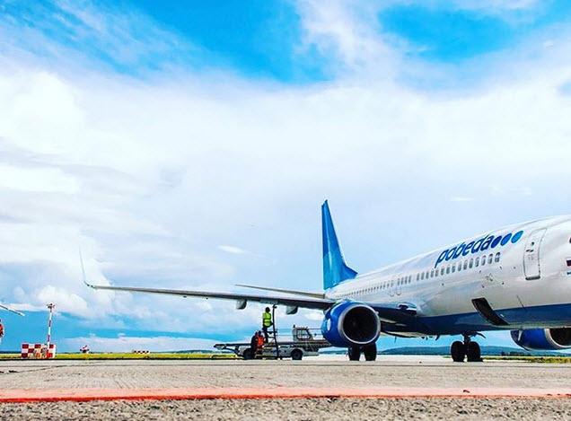 Самолеты «Победы» полетят по маршруту Санкт-Петербург – Пермь