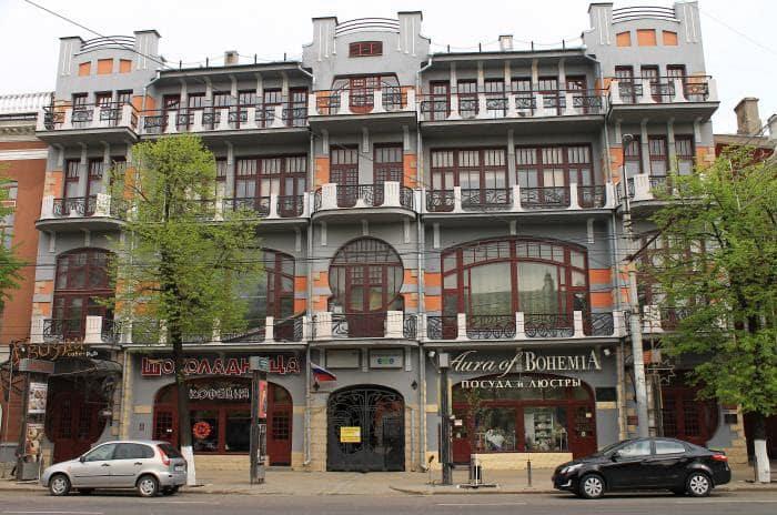 Гостиница Бристоль в Воронеже