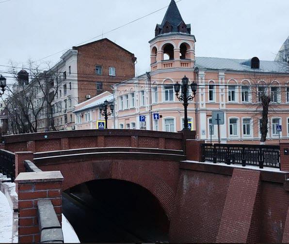 Каменный мост в Воронеже