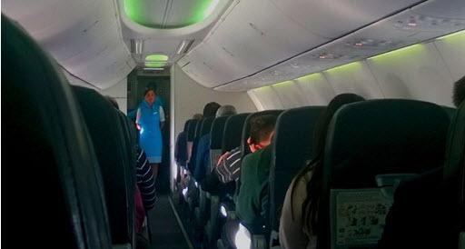 Правила безопасности на борту самолётов «Победа»