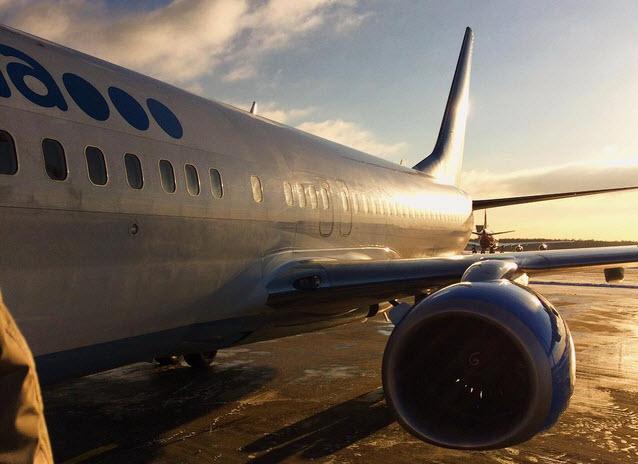Самолет «Победы» сел в Волгограде с больным ребенком на борту