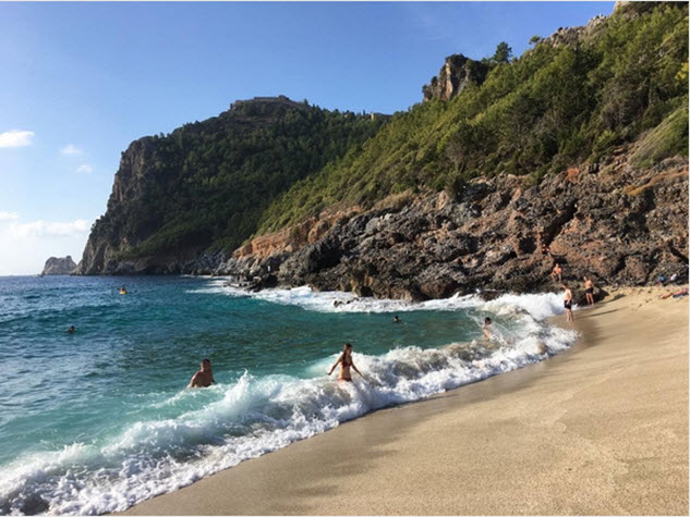 Турецкие пляжи в Анталье