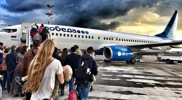 Из-за подозрительных шумов на борту рейс «Победы» совершил вынужденную посадку