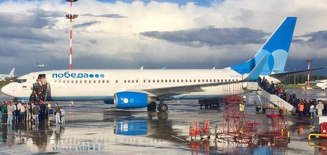 Если авиапассажир закурит, самолет «Победы» начнет снижаться