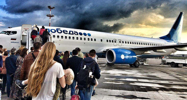 «Победа» признана лидером пунктуальности среди крупнейших российских авиакомпаний