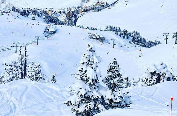 Один из лучших горнолыжных курортов Бакейра-Берет в Каталонии
