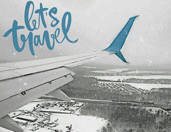 Самолеты компании Победа не пострадали от сильного снегопада в Москве