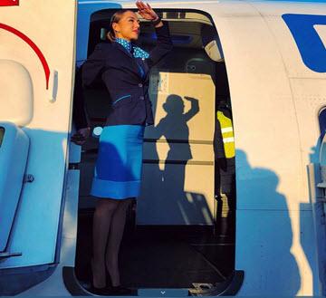 Авиакомпания Победа за здоровый образ жизни