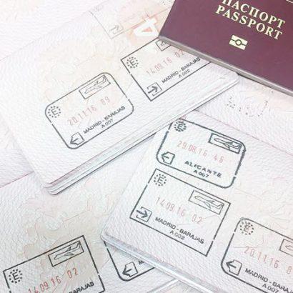 Оформление визы в загранпаспорт