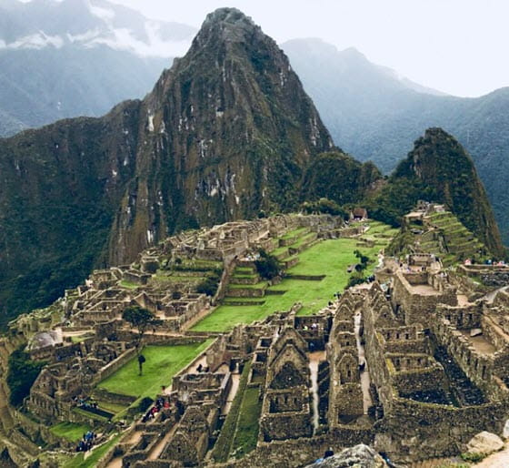 Город Ольянтайтамбо в Перу