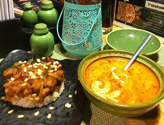 Корейский летний холодный суп Куксу