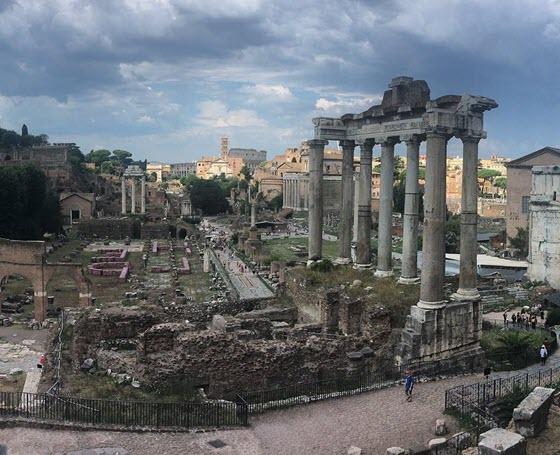 Римский Форум Forum Romanum в Италии