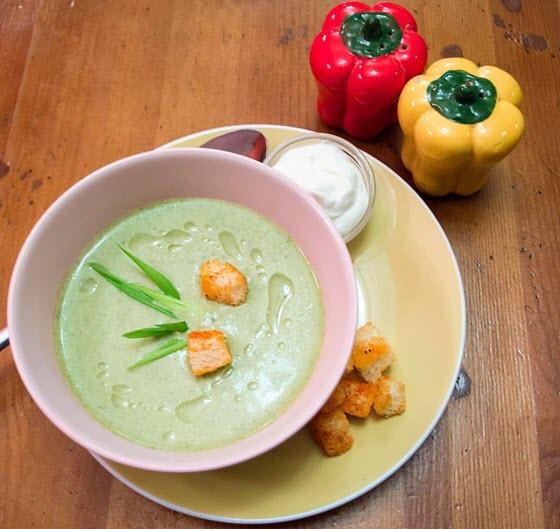 Французский летний суп Вишисуаз