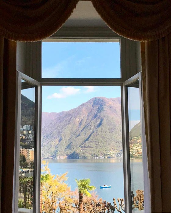 Швейцарская гостиница Hotel Splendide Royal (Лугано, Швейцария)