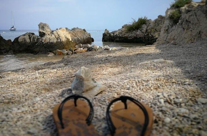 Идеальный пляж на Крк