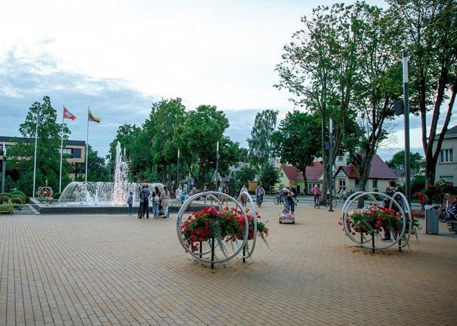 Музыкальный фонтан в Паланге