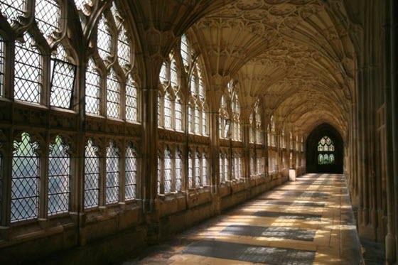Глостерский собор и съёмки Гарри Поттера