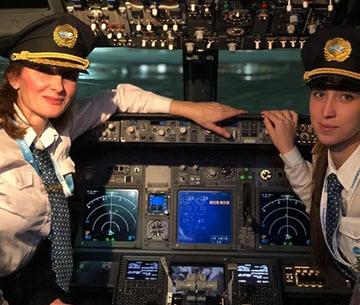 Победа доверяет своим пилотам, независимо от их пола
