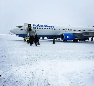 Победа на 4 месте в списке авиакомпаний России