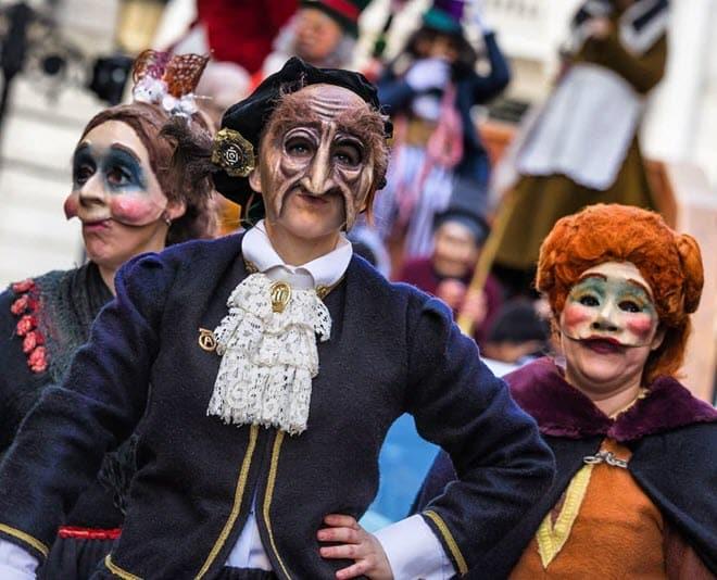 Знаменитые карнавалы в Сарагосе