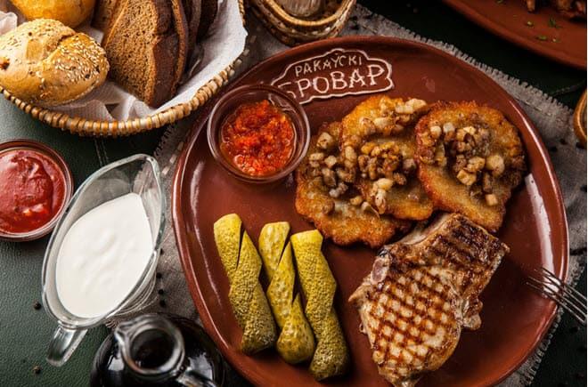 Ресторан Раковский Бровар в Минске