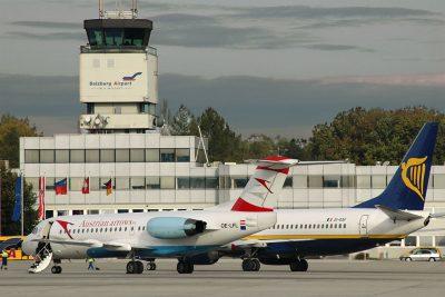 Аэропорт Зальцбург имени В. А. Моцарта (SZG) в Австрии